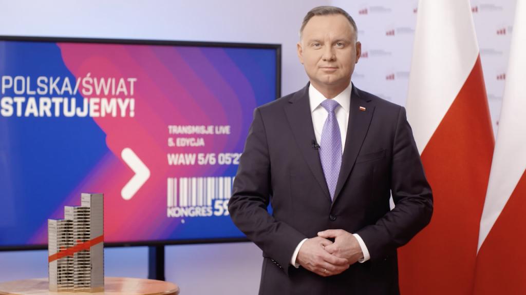 prezydent Andrzej Duda na Kongresie 590