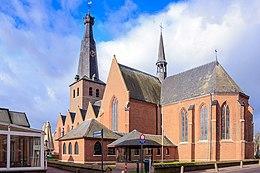 kościół pw. św. Remigiusza w belgijskiej części Baarle