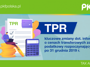 Ceny transferowe: formularz TPR