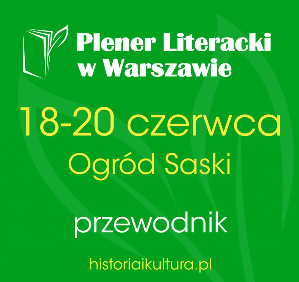 Plener Literacki w Warszawie - pobierz przewodnik
