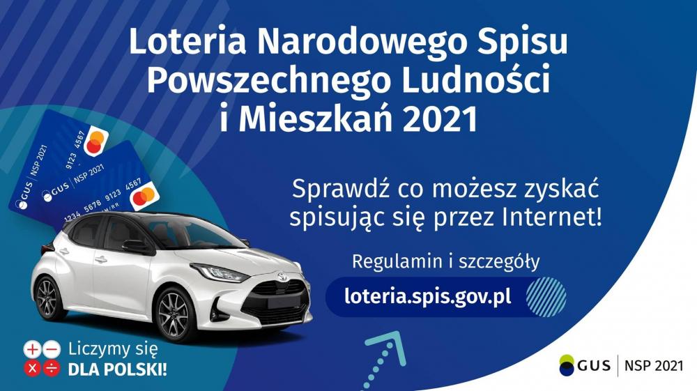 Loteria Narodowego Spisu Powszechnego, weź udział!
