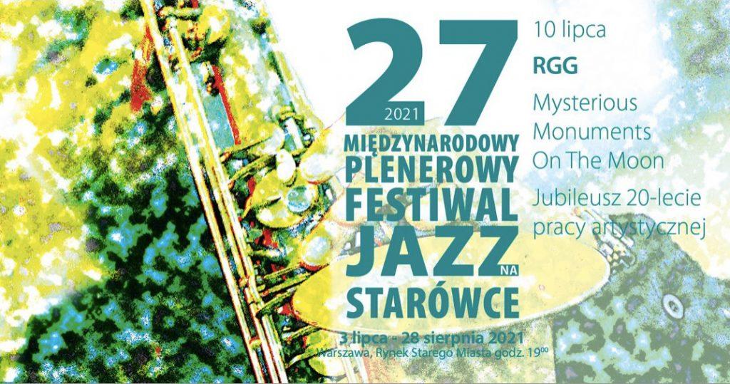 Zapowiedź drugiego z tegorocznych koncertów na festiwalu Jazz na Starówce: RGG Trio