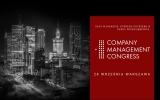 Company Management Congress, spotkajmy się 28 września offline !