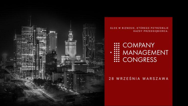 Company Management Congress, spotkajmy się 28 września offline!