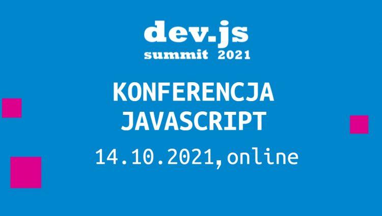 ddev.js Summit, największa konferencja o JavaScript i Front-endzie