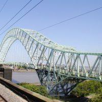 Silver Jubilee Bridge już w świetle dziennym