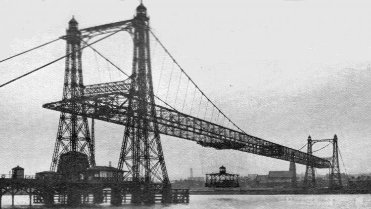 Transporter bridge, czyli skrzyżowanie mostu z kolejką linową