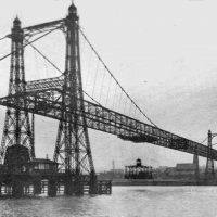 Nieistniejący już Widnes Runcon Transporter Bridge