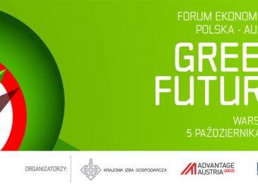 Forum Ekonomiczne Polska-Austria GREEN FUTURE