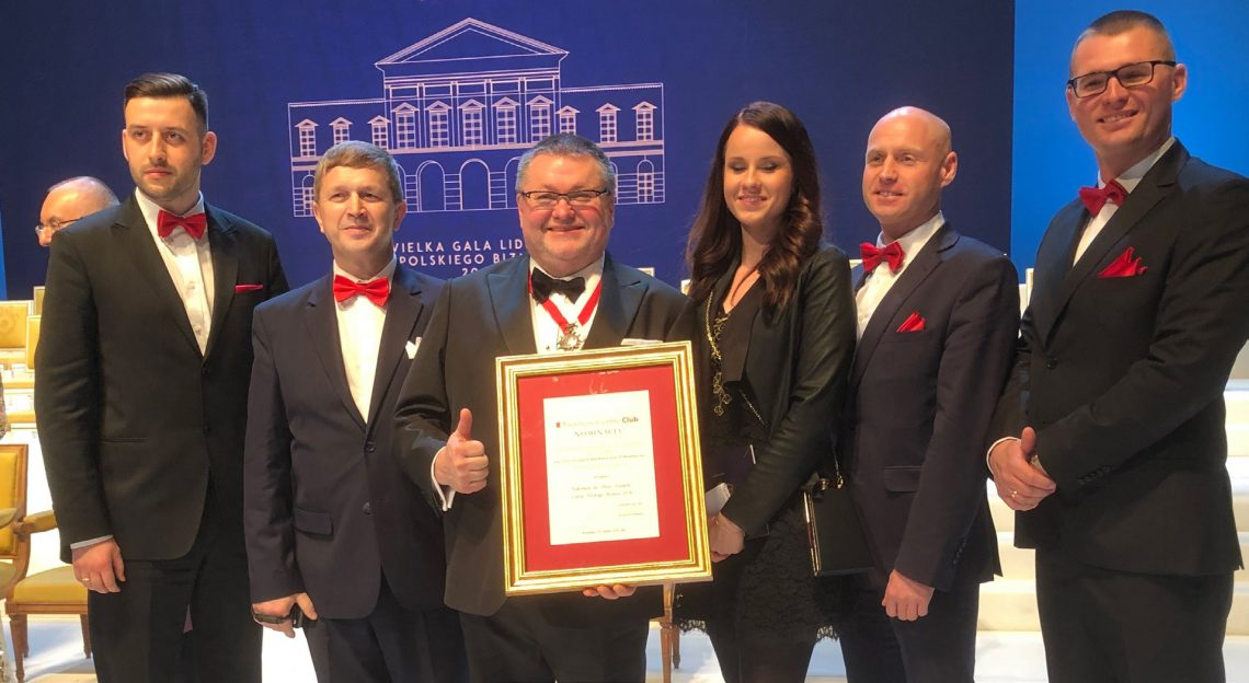 Jacek Rutkowski uhonorowany prestiżowym Medalem Solidarności Społecznej, Wielka Gala Liderów Polskiego Biznesu