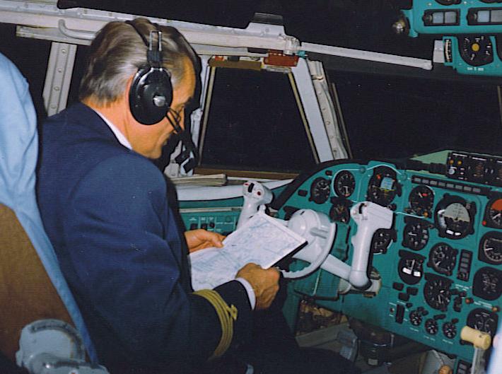 Marian Nowotnik Ił-62M – rok 1989 lot z Toronto