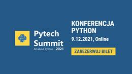 Zarezerwuj bilet na Pytech Summit